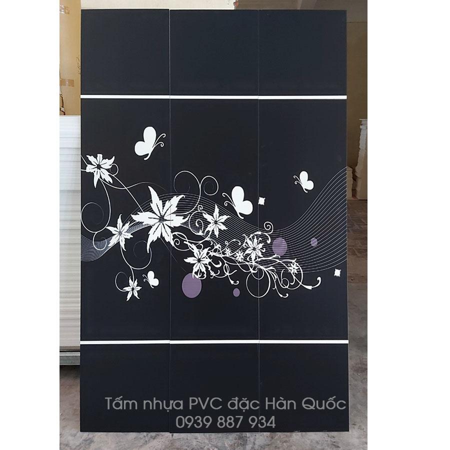 tấm nhựa PVC màu đen Hàn Quốc
