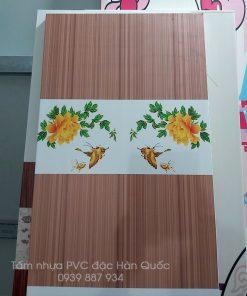 Tấm nhựa pvc vân gỗ hàn quốc